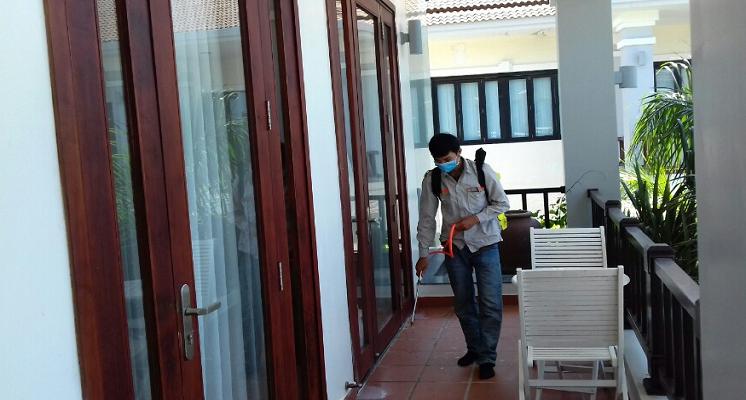 Phun diệt muỗi tại nhà ở Lai Châu