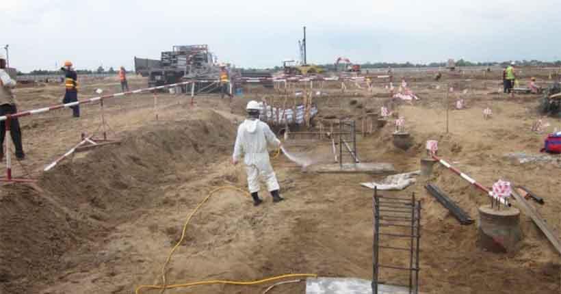 phòng chống mối công trình tại Bắc Ninh