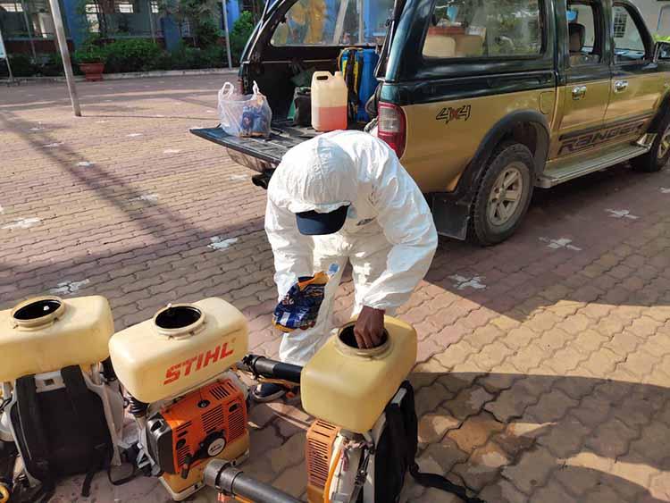hợp đồng diệt côn trùng tại Nha Trang