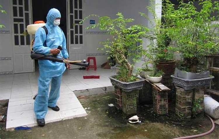 phun thuốc diệt muỗi tại Hải Dương